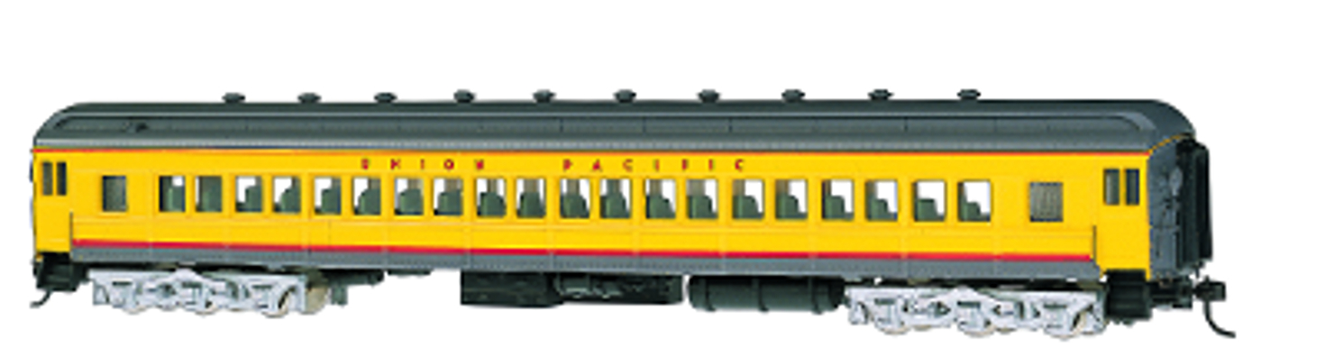 Union Pacific® #1115 (yellow/gray/red) 72' Coach
