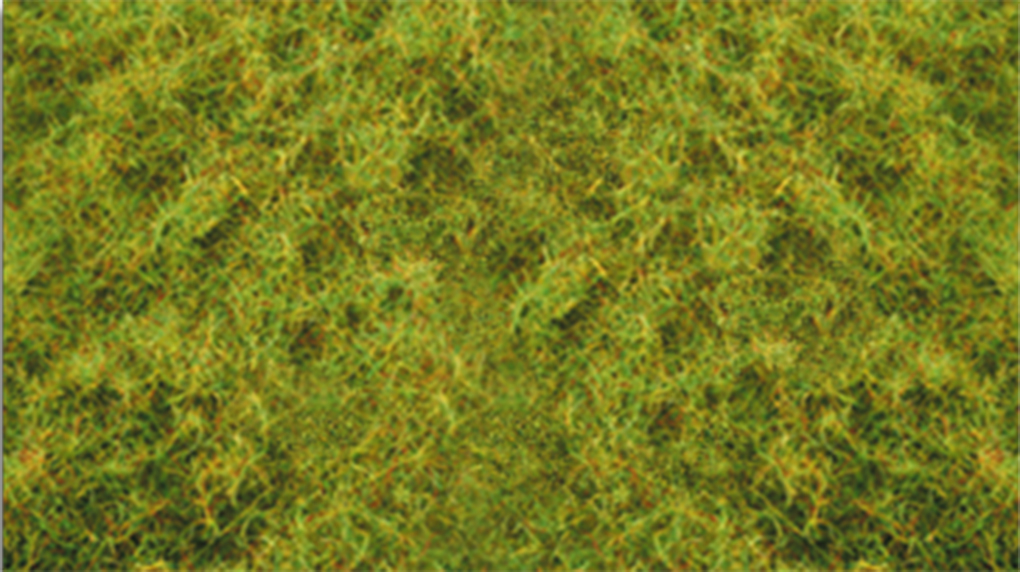 "Pull-Apart 2mm Static Grass - Light Green (one 11"" X 5.5"" sheet)"