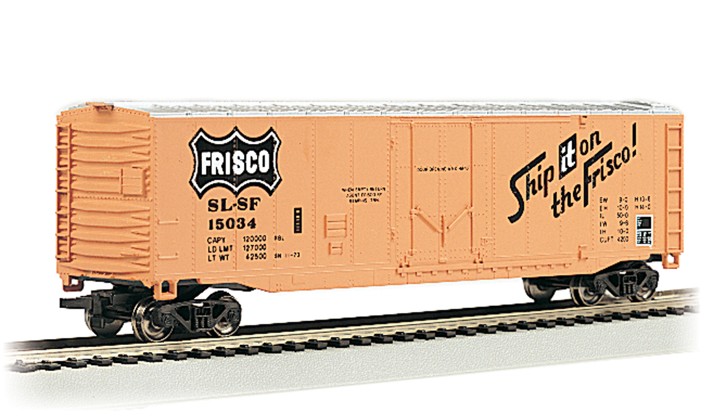 Frisco - 50' Plug Door Box Car (HO Scale)