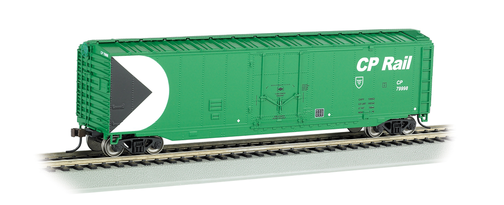 CP Rail (Green) - 50' Plug Door Box Car (HO Scale)
