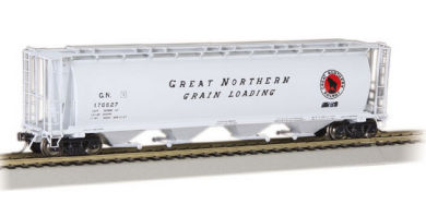 Great Northern - 4 Bay Cylindrical Grain Hopper
