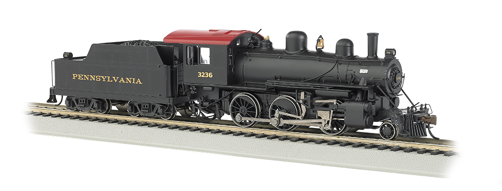 Pennsylvania #3326 ALCO 2-6-0 - E-Z App™ Train Control