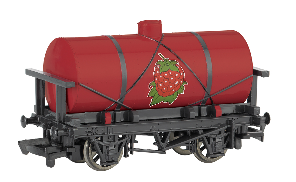 Raspberry Syrup Tanker (HO Scale)