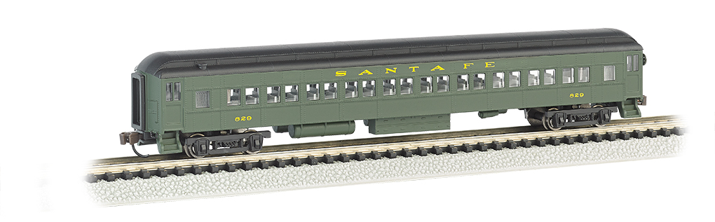 Santa Fe - Green 72' Heavyweight Coach With Lighted Interior