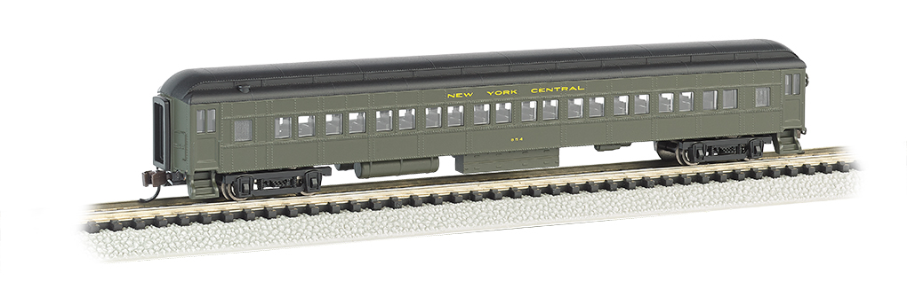 New York Central® - 72' Heavyweight Coach With Lighted Interior