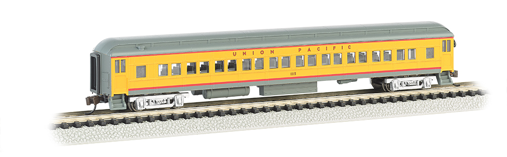 Union Pacific® - 72' Heavyweight Coach With Lighted Interior