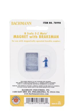 Magnet with Brakeman (N Scale)