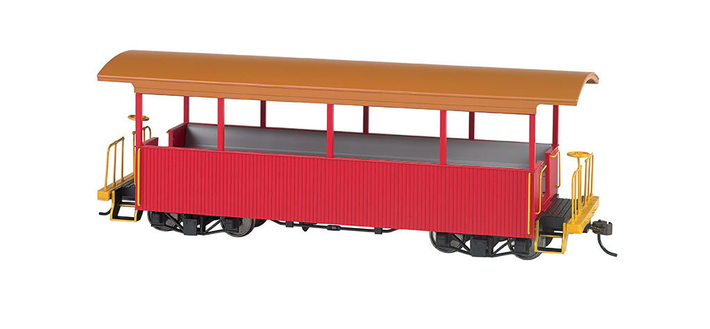 Red w/ Tan Roof - Excursion Car