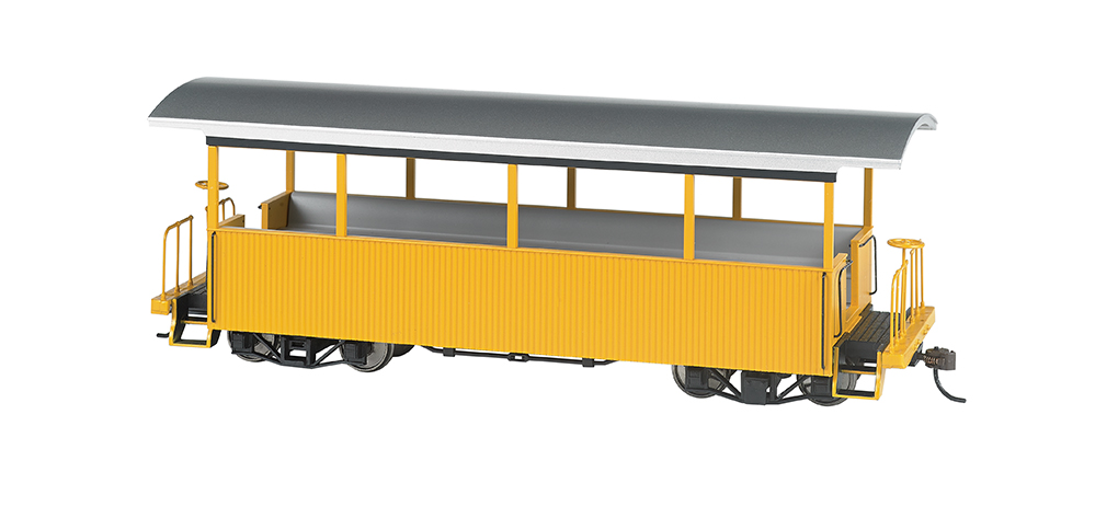 Yellow w/ Silver Roof - Excursion Car