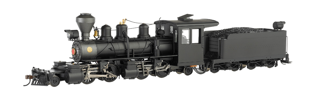 Black Steel Cab - Baldwin 2-4-4-2 - DCC