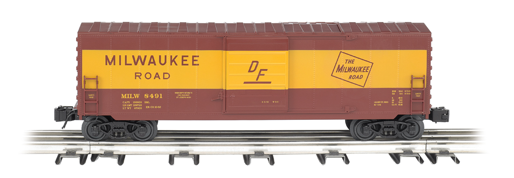 Milwaukee Road - Operating Box Car